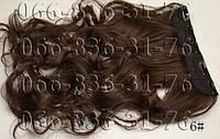 Волосы на заколках волнистые. Искусственные термо., фото 1
