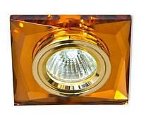 Точечный светильник Feron 8150-2 (разнообразие цветов!) коричневый золото