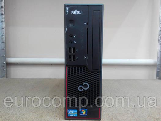 Мощный мини компьютер, медиа сервер для дома и игр на Core i3 Fujitsu C700 E85+ (Windows 7 Лицензия)