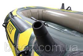 Двухместная надувная лодка Intex 68347 Seahawk 2 Set, 236 х 114 х 41 см, фото 3