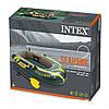 Двухместная надувная лодка Intex 68347 Seahawk 2 Set, 236 х 114 х 41 см, фото 6