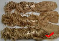Кудрявые волосы на заколках искусственные, фото 1
