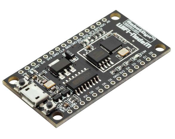 NodeMCU V3 Lua WI-FI ESP8266 + 32 МБ, CH340G, micro USB