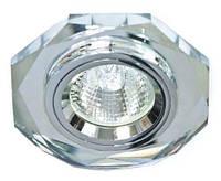 Точечный светильник Feron 8020-2 (разнообразие цветов!) серебро серебро