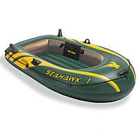 Одноместная надувная лодка Intex 68345 Seahawk 1, 193 х 108 х 38 см, фото 1