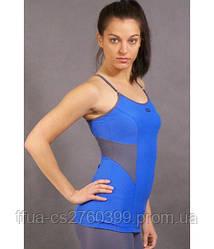 Топ синий спортивный женский Stamina майка