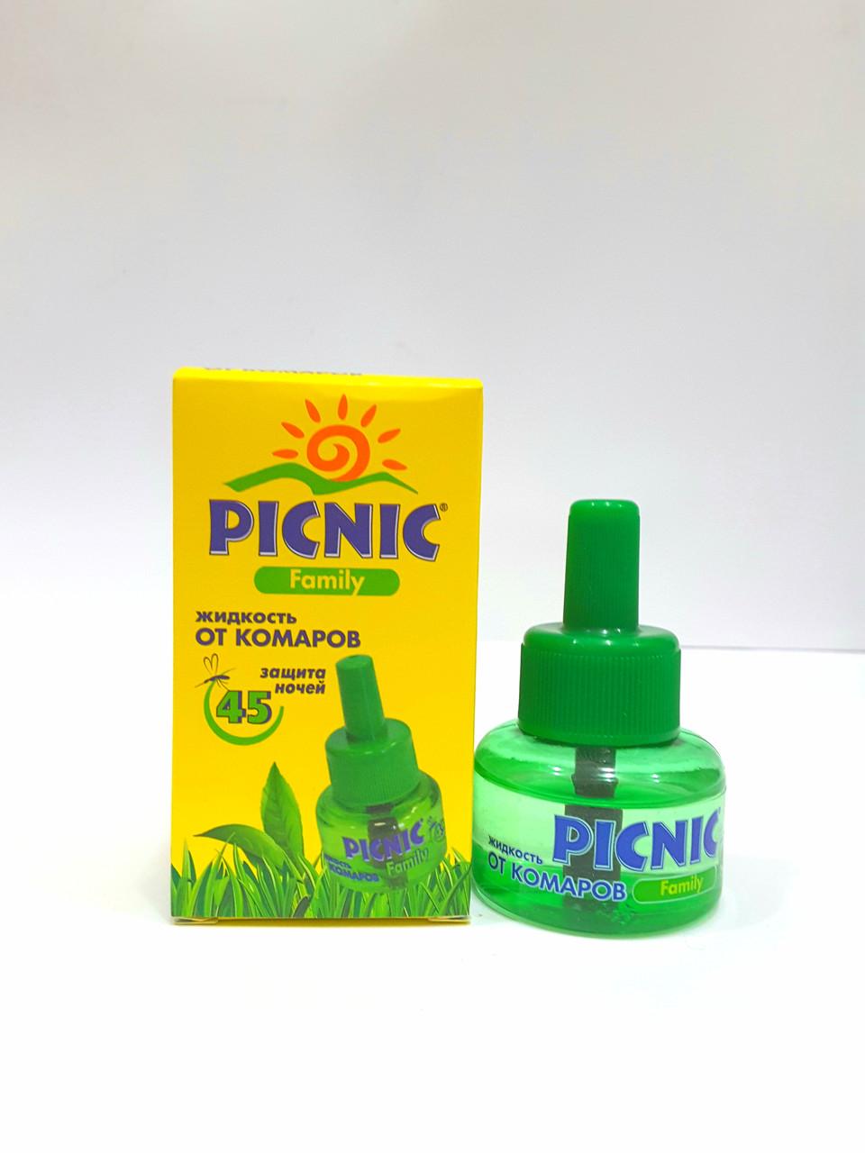 Жидкость от комаров PICNIC Family