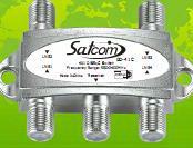 Коммутатор DiSEqC 4х1  SatCom SD-42