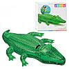 Плотик 58546 крокодил, 168-86см, ручка, до 40 кг, рем компл, в кор-ке, 20-19-5,5см
