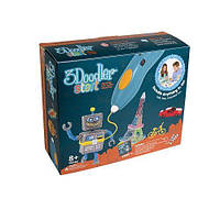 3D-ручка для детского творчества - КРЕАТИВ (48 стержней) ТМ 3Doodler Start 3DS-ESST-E-R