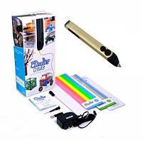 3D-ручка для профессионального использования (50 стержней из ABS-пластика, акс.) ТМ 3Doodler Start Золотой