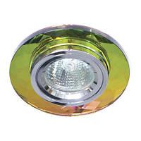 Точечный светильник Feron 8060-2 (разнообразие цветов!) серебро-мультиколор на 5 цветов