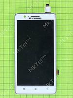 Дисплей Lenovo A536 с сенсором, панелью, белый orig-china