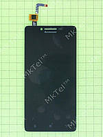 Дисплей Lenovo A6010 с сенсором Копия АА Черный