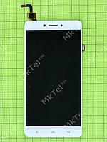 Дисплей Lenovo K6 Note (K53a48) с сенсором Оригинал элем. Белый