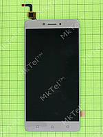 Дисплей Lenovo K6 Note (K53a48) с сенсорным экраном Оригинал элем. Золотистый