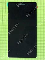 Дисплей Lenovo Tab 3-730X LTE с сенсорным экраном Оригинал Китай Черный