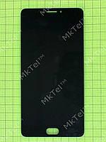Дисплей Meizu M3 Max с сенсором Копия АА Черный
