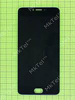 Дисплей Meizu M3 Note с сенсором, rev M681 Копия АА Черный