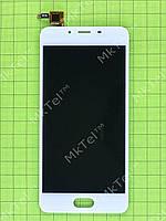 Дисплей Meizu U10 с сенсором Копия АА Белый