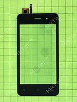 Сенсорный экран FLY FS405 Stratus 4 Оригинал элем. Черный