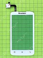 Сенсорный экран Lenovo A316i Копия А Белый