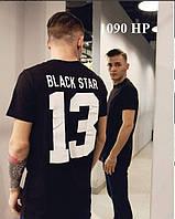 """Футболка мужская """" Black Star """"  1090 НР"""