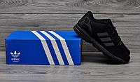 Кроссовки Adidas zx flux copper черные