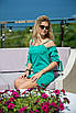Летнее Платье Ивона зеленое, фото 3