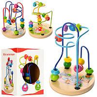 Деревянная игрушка «Лабиринт на проволоке» XY-5822