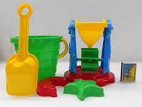 Набор в песочницу Мельница 4, 9 предметов