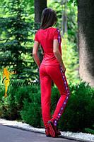 Костюм. Ткань - турецкая двухнитка. Размер С и М. (21420)