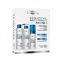L'Oreal Professionnel Serioxyl набор для натуральных тонких волос (шампунь, кондиционер, аква-мусс )