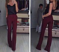 Габардиновые брюки - клёш 255 (ИНФ)