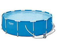 Круглый каркасный бассейн Bestway 56260 (366-100 см.)