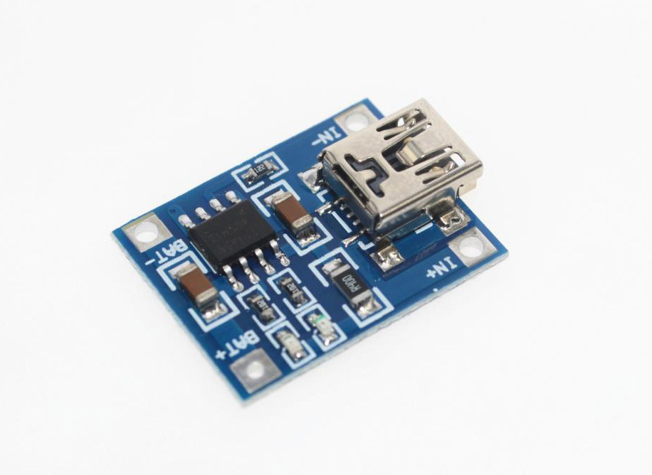Модуль заряда Li-ion аккумуляторов TP4056 1А
