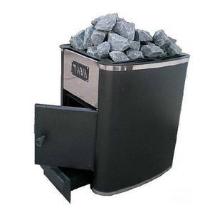 Дровяная печь каменка Heat-15 без выноса, фото 2