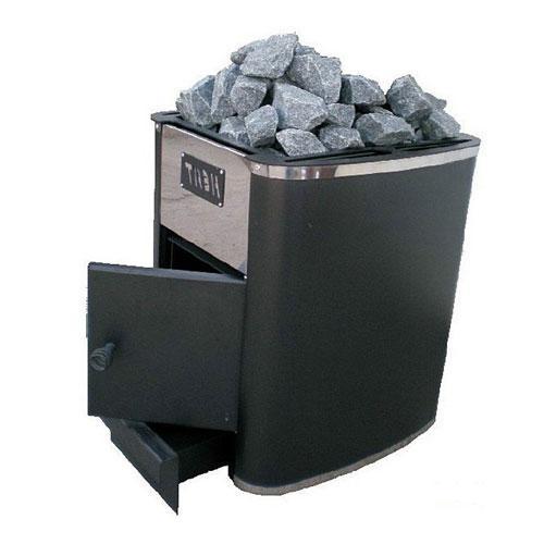 Дровяная печь каменка Heat-15 без выноса
