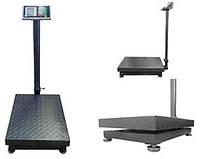Ваги електронні торгові BITEK YZ-909-G5-600kg з посиленою подвійний платформою до 600кг (45х60см)