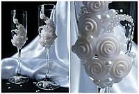 Бокалы свадебные №15