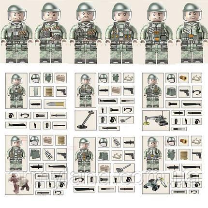 Отряд разминирования военный конструктор , фото 2