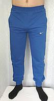 Спортивные штаны мужские с манжетами, трикотаж