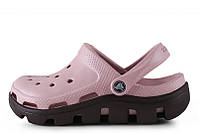 Женские мокасины Crocs Duet Sport Clog Pink Black W