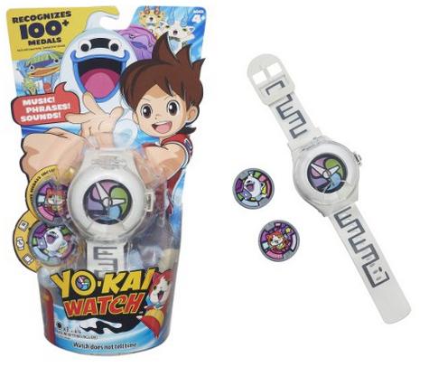 УЦЕНКА! Часы Йокай, Yo-kai Watch Season 1 с 2 медалями. Hasbro Оригинал из США