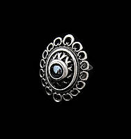 """Кольцо с гематитом для женщин """"Романия Ажур"""" - этнические украшения"""