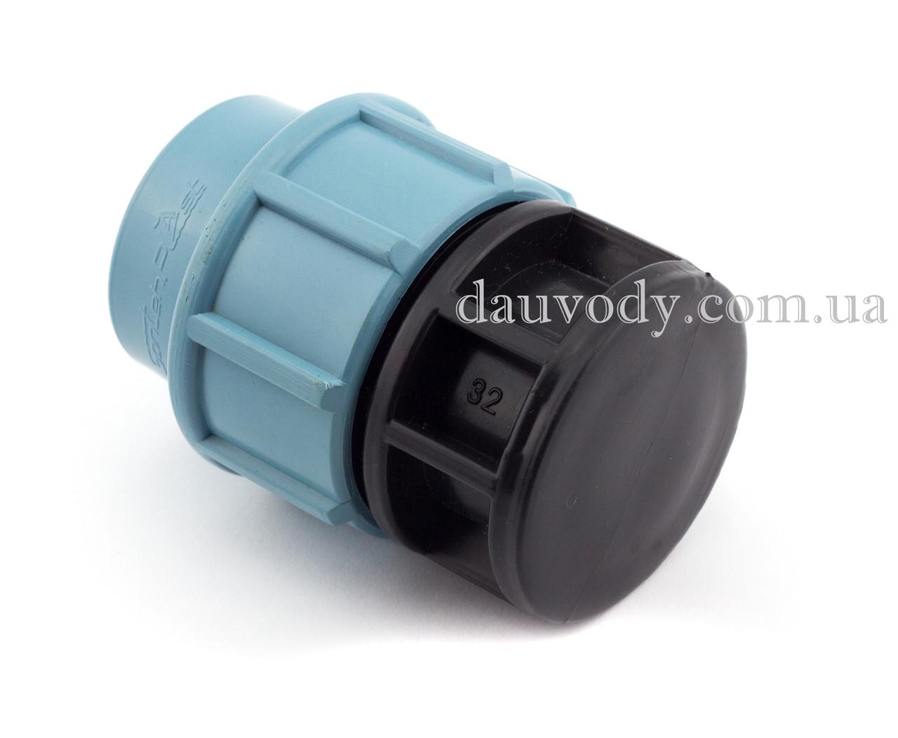 Заглушка пнд 63 для полиэтиленовых труб (Santehplast)