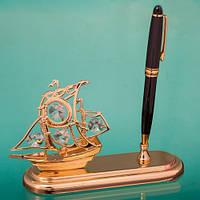 """Ручка на стол на подставке """"Каравелла"""" подарок преподавателю на выпускной"""