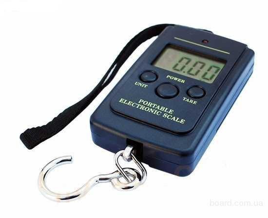 Кантер електронні ваги побутові, до 40 кг.