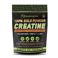 Креатин SUPPLEMAX Gold Powder Creatine (500g)