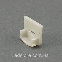 Заглушка LED профиля LP12 с отверстием, фото 1